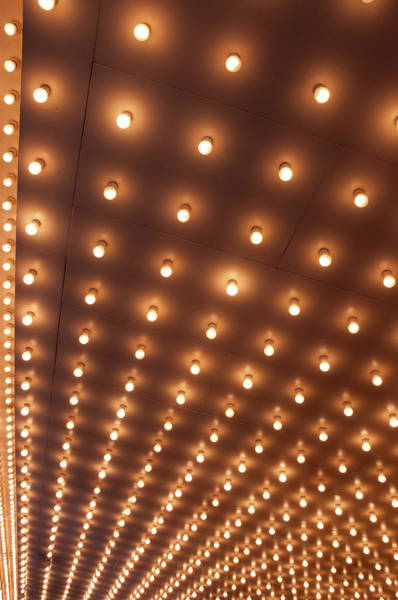 Art Object Photograph - Theater Marquee Lights by 400tmax