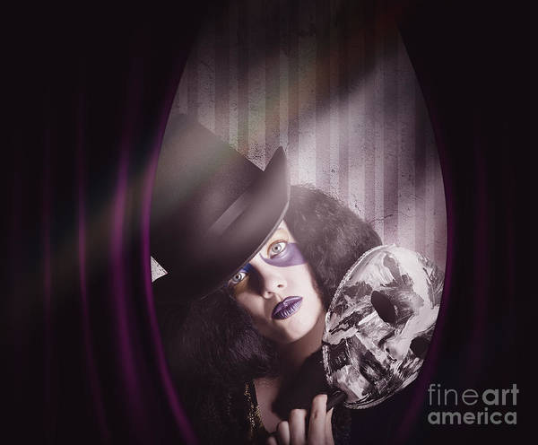 Photograph - Theater Performer Play Acting Masquerade Show  by Jorgo Photography - Wall Art Gallery