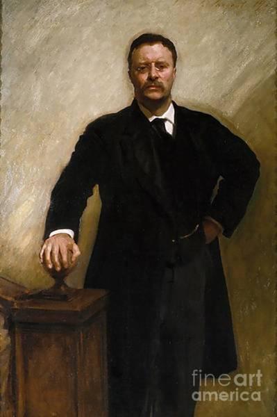 Theodore Roosevelt Art Print