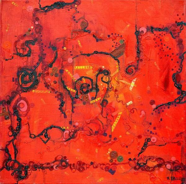 Painting - Thermal Denaturation by Regina Valluzzi