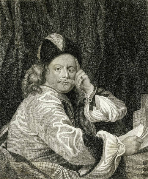 Wall Art - Drawing - Thomas Killigrew  English Playwright by Mary Evans Picture Library