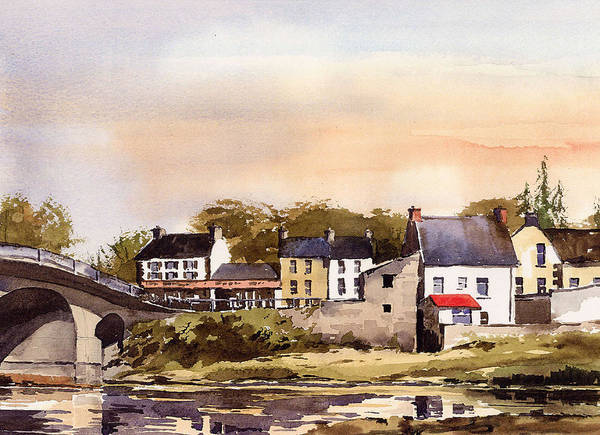 Painting - Thomastown Kilkenny by Val Byrne