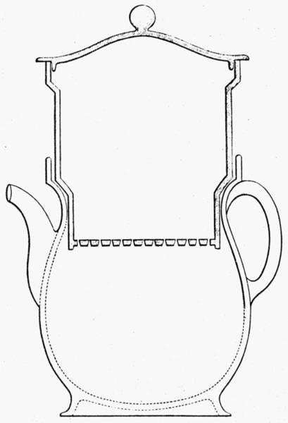 Coffee Drawing - Thompson Drip Coffee Pot by Granger