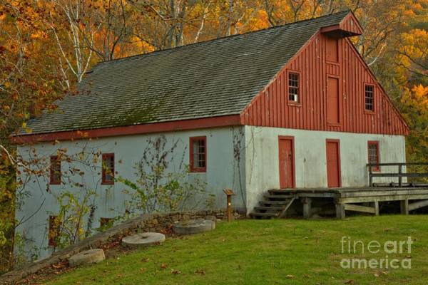 Photograph - Bucks County Thompson Neely Grist Mill by Adam Jewell