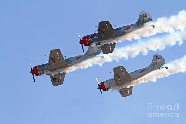 Photograph - Three Aerobatic Aircraft by Kevin McCarthy