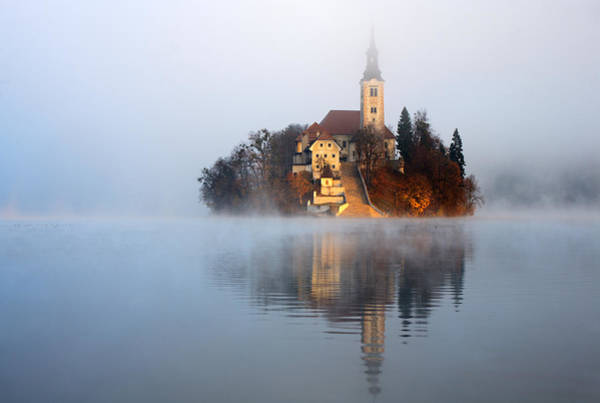 Wall Art - Photograph - Through The Mist by Ian Middleton