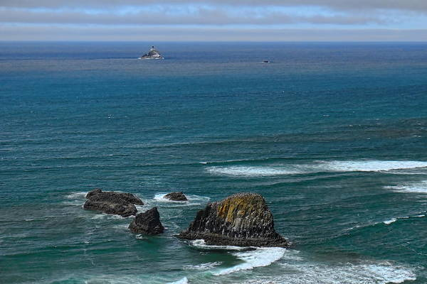 Photograph - Tillamook Lighthouse by Dale Kauzlaric