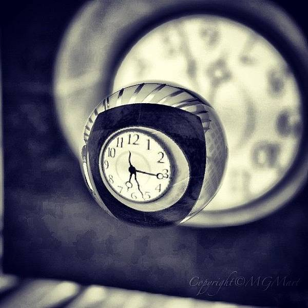 Wall Art - Photograph - Time Is Up by Marianna Mills