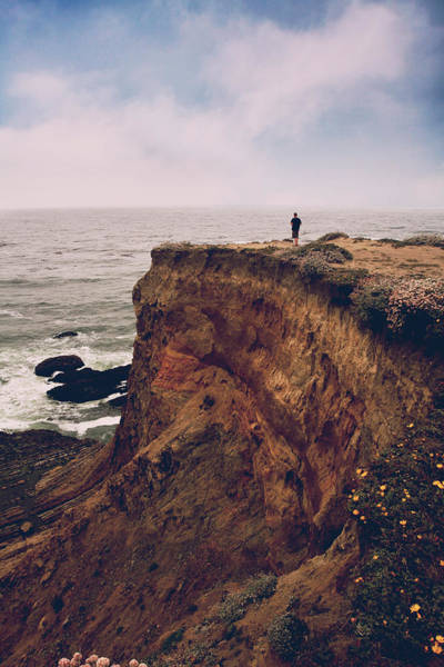 Wall Art - Photograph - The Edge Of The Earth by Laurie Search