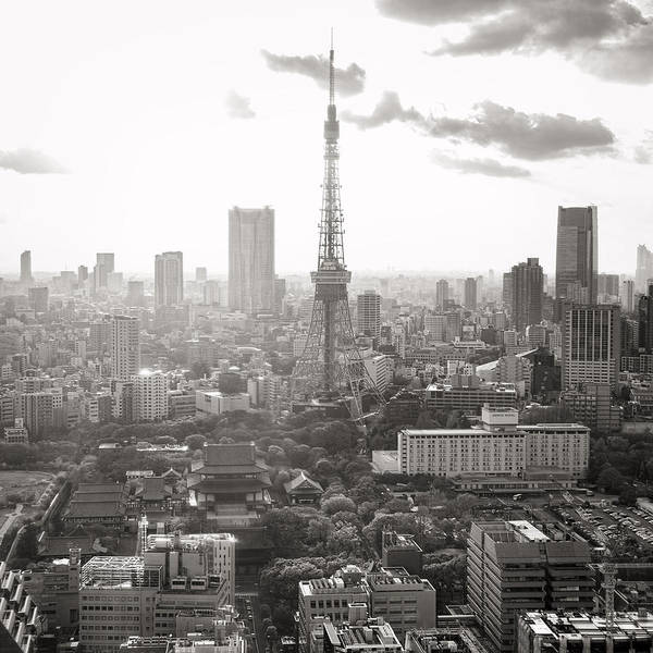 Photograph - Tokyo Tower Square by For Ninety One Days
