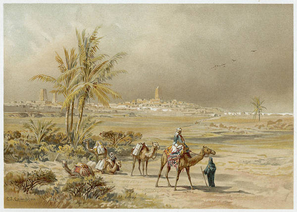 Wall Art - Drawing - Tombouctu (timbuktu) Reached By German by Mary Evans Picture Library