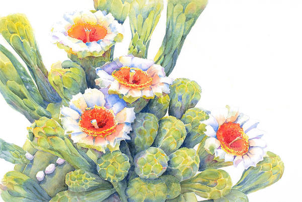 Full Bloom Painting - Top Bloomers by Deb Harclerode