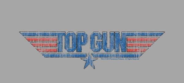 Goose Digital Art - Top Gun - 8 Bit Logo by Brand A