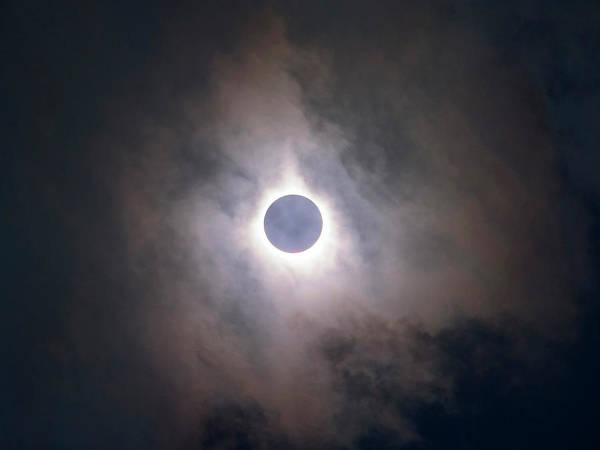 Totality Photograph - Total Solar Eclipse by Babak Tafreshi
