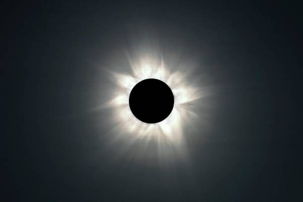 Totality Photograph - Total Solar Eclipse by Martin Rietze