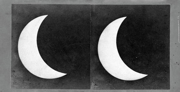 Stereogram Photograph - Total Solar Eclipse by Us Naval Observatory/science Photo Library