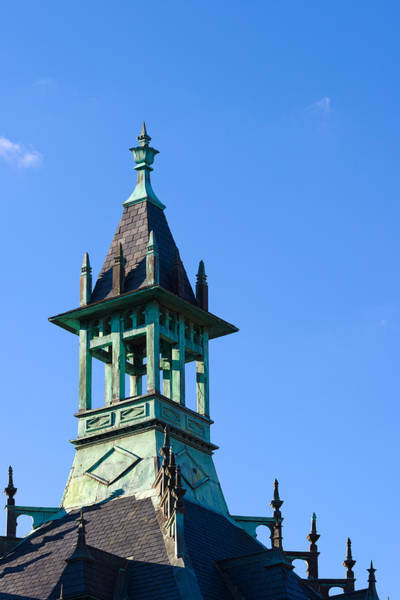 Photograph - Tower At Customs House by Ed Gleichman