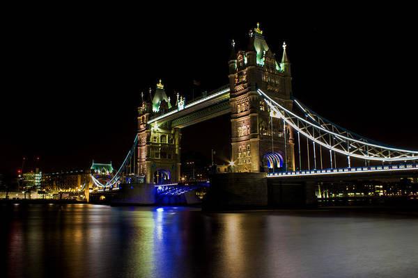 Shutter Speed Photograph - Tower Bridge by Martin Newman