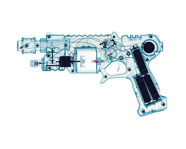 Toy Gun Photograph - Toy Gun by Brendan Fitzpatrick
