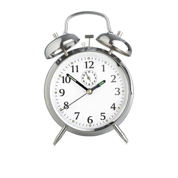 Alarm Clock Photograph - Traditional Alarm Clock by Science Photo Library