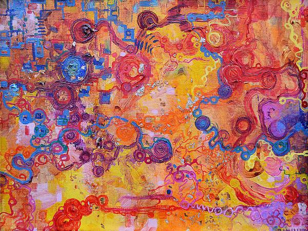 Painting - Transduction by Regina Valluzzi
