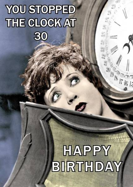 Wall Art - Photograph - Trapped In Time Birthday Greeting Card by Communique Cards