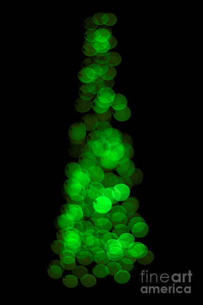 Fuzzy Photograph - Tree Of Christmas Focus by Jorgo Photography - Wall Art Gallery