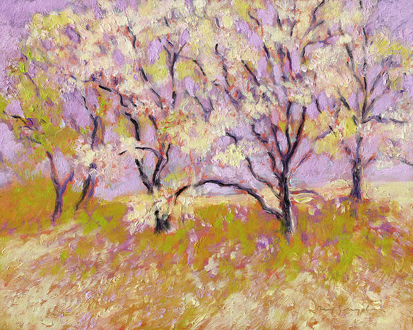 Painting - Trees Il by J Reifsnyder