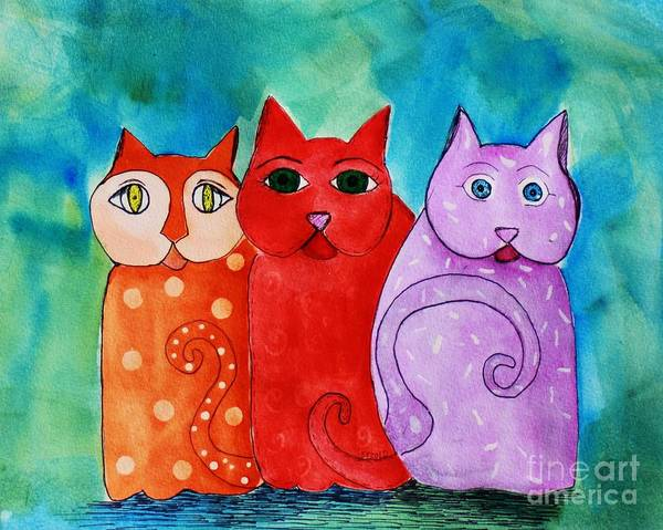 Painting - Tres Amigos by Melinda Etzold