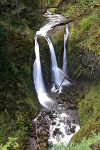 Triple Falls Photograph - Triple Falls by Jeff Swan