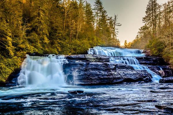 Photograph - Triple Falls by Randy Scherkenbach
