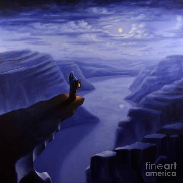 Painting - Trolltunga by Ric Nagualero
