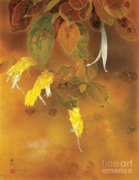 Japanese Art Digital Art - Tropical Flower  by MGL Meiklejohn Graphics Licensing