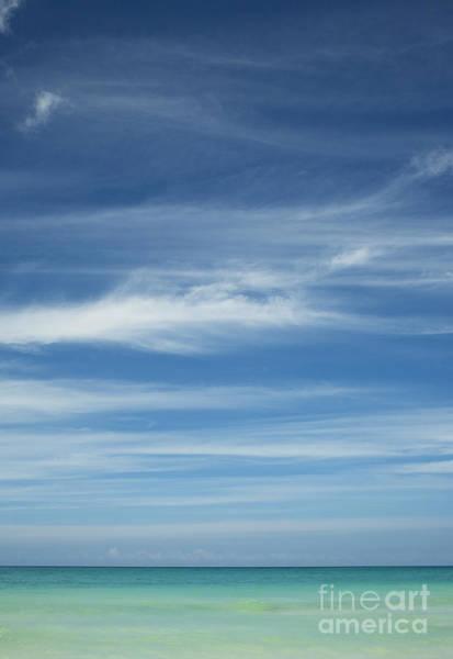 Tropical Ocean And Sky Art Print