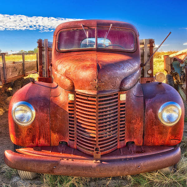 Photograph - International Rust by Daniel George