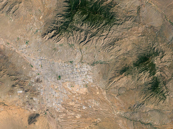 Tucson Photograph - Tucson by Nasa/science Photo Library