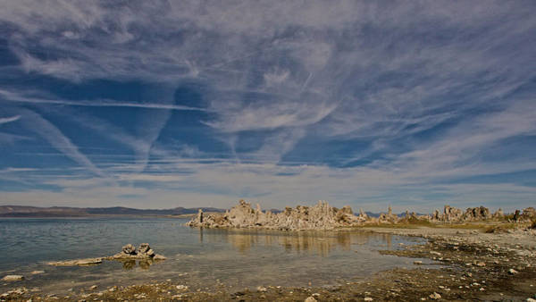 Photograph - Tufas Mono Lake by Steven Lapkin