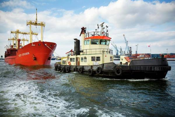 Tug Boat Photograph - Tug Boat by Jimmy Kets/reporters/science Photo Library