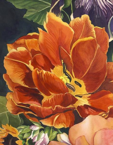 Painting - Tulip In Spring by Alfred Ng