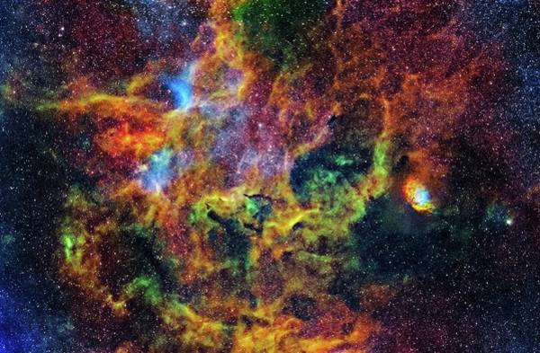 Wall Art - Photograph - Tulip Nebula by J-p Metsavainio/science Photo Library