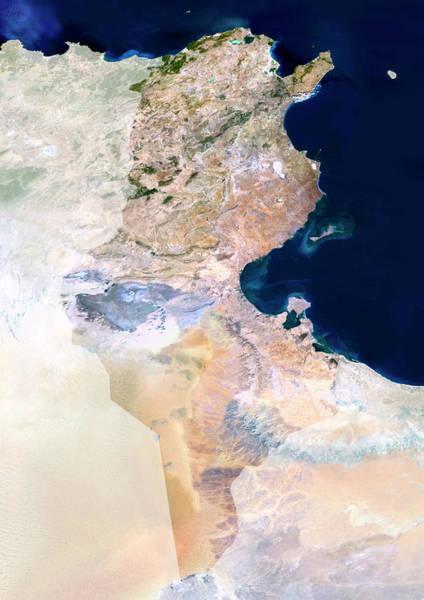Tunisia Wall Art - Photograph - Tunisia by Planetobserver/science Photo Library