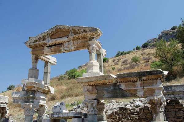 Ad Photograph - Turkey, Ephesus The Nymphaeum Traiani by Cindy Miller Hopkins
