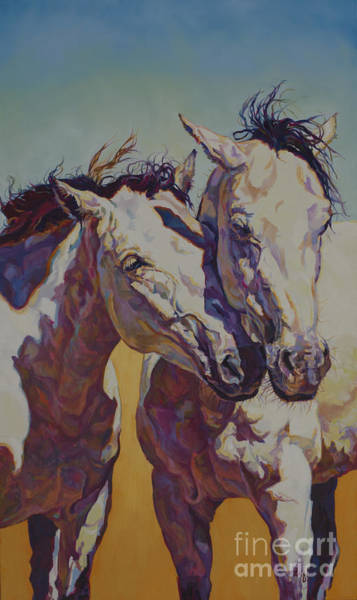 Painting - Twins by Patricia A Griffin
