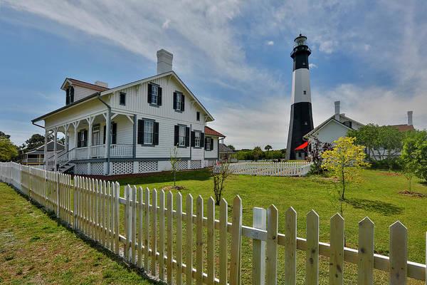 Tybee Island Photograph - Tybee Island Lighthouse by Darrell Gulin