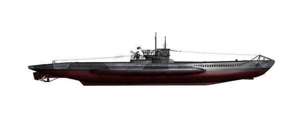 Wall Art - Photograph - Type Viic42 U-boat, Artwork by Science Photo Library