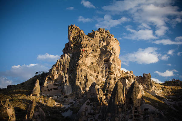 Nevsehir Photograph - Uchisar Castle by Tim Gerard Barker