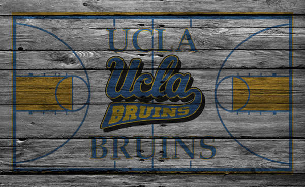 Court Photograph - Ucla Bruins by Joe Hamilton