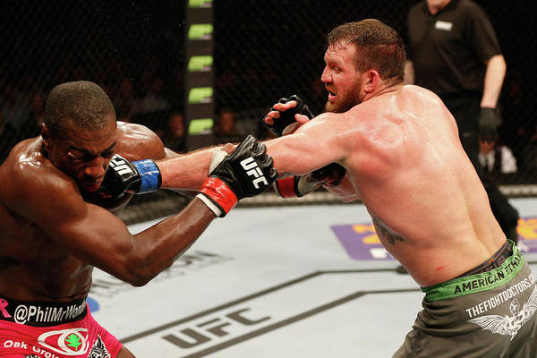 Ufc Photograph - Ufc Fight Night Davis V Bader by Josh Hedges/zuffa Llc
