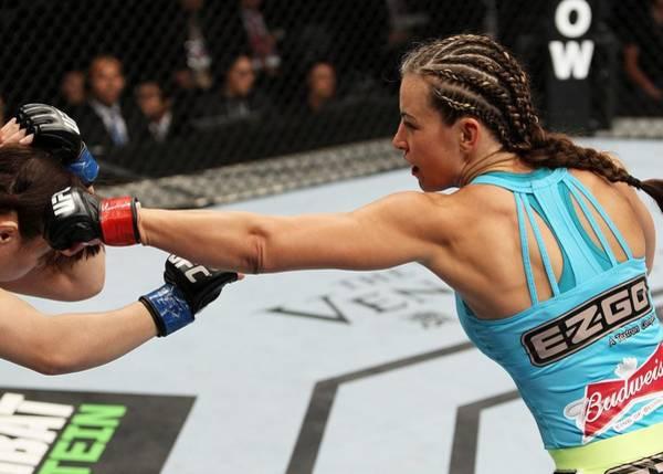 Super Sport Photograph - Ufc Fight Night Nakai V Tate by Mitch Viquez/zuffa Llc