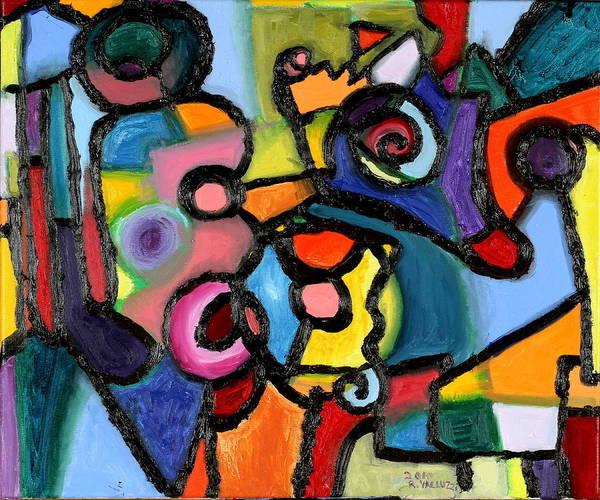 Quantum Physics Painting - Uncertainty Principle by Regina Valluzzi